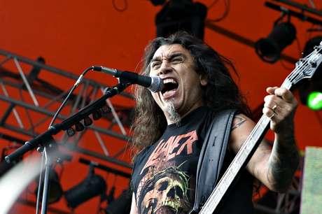 Slayer con su líder Tom Araya Foto: AFP