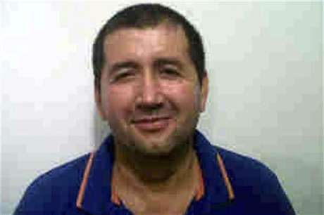 """Alleged Colombian drug trafficker Daniel Barrera, known as """"Loco Barrera"""", is seen in this handout photo provided by the national police on September 18, 2012. Foto: National Police / Reuters In English"""