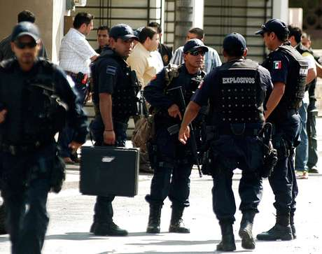 Con estos siete arrestos la Policía Federal mexicana eleva a diecisiete la cifra de personas presuntamente relacionadas con el cártel del Golfo detenidas este mes en Nuevo León. Foto: Getty Images