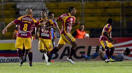Deportes Tolima empató 0-0 contra Atlético Huila, en Neiva Foto: AFP
