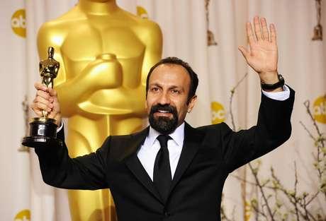 """En febrero, el director iraní Asghar Farhadi ganó el Oscar a la mejor película extranjera por su película """"A Separation"""" (Una separación), la primera vez que Irán haya recibido el máximo premio de Hollywood. Foto: Getty Images"""