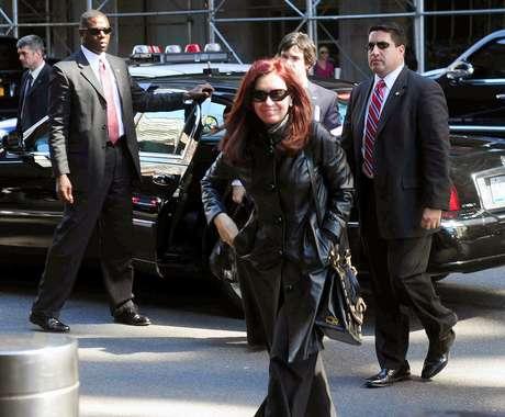 La jefa de Estado arribó este domingo a Nueva York, donde mañana, martes, expondrá ante la ONU.   Foto: Télam