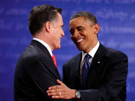 El republicano Mitt Romney y el presidente demócrata Barack Obama tuvieron su primer cara a cara rumbo a los comicios del 6 de noviembre. Foto: Getty Images