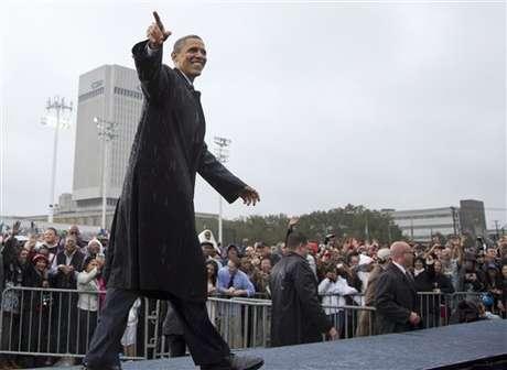 Obama logró recaudación récord en septiembre. Foto: AP