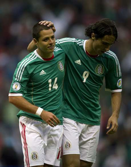 'Chicharito' Hernandez won't talk about the transfer rumors. Foto: Getty Images