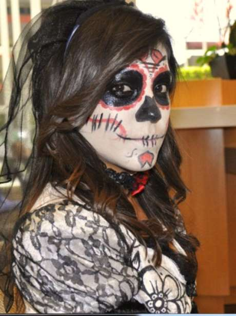 Maquillaje de la Catrina para el Día de Muertos Foto: Divulgación