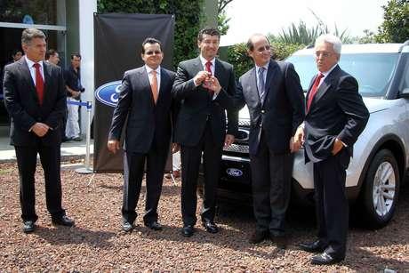 José Manuel de la Torre y Justino Compeán encabezan a la Delegación Mexicana en Concacaf. Foto: Mexsport
