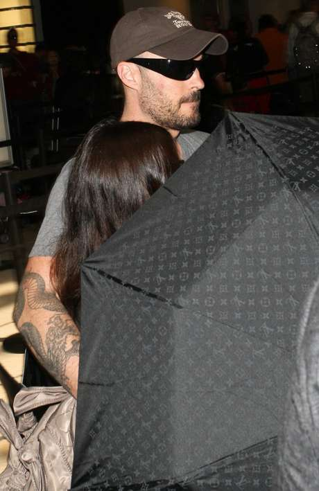 Megan Fox y Brian Austin Green siempre se mostraron herméticos respecto al embarazo de la actriz. Foto: Clasos