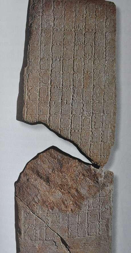 El Monumento 6 Tortuguero consigna la fecha 4 Ajaw 3 Kankin (21 de diciembre de 2012) como el inicio de la nueva era. Foto: INAH