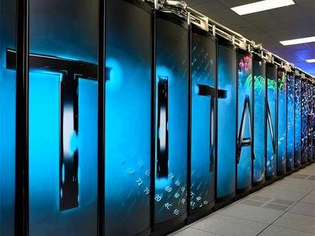 Titan, el ordenador más rápido del mundo Foto: Divulgación