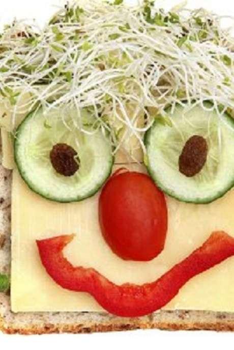 Canapes para que tus hijos coman verduras durante las fiestas Foto: guiainfantil.com