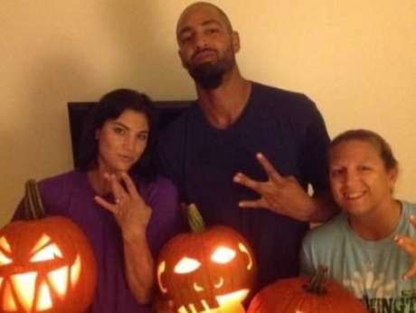 Jerramy Stevens and Hope Solo attended the University of Washington at the same time.  Foto: Twitter