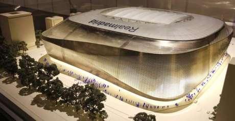 Así será el estadio Santiago Bernabéu con techo Foto: Web