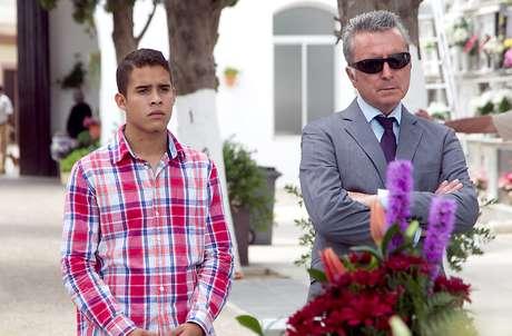 José Ortega Cano y su hijo José Fernando.  Foto: Gtres