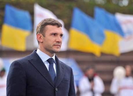 Shevchenko rechaza ser técnico de Ucrania. Foto: AFP