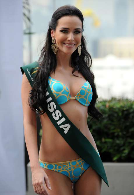 Miss Tierra Rusia 2012, Natalia Pereverzeva. Foto: Getty Images