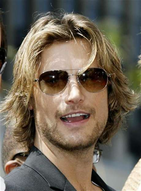 Gabriel Aubry attends ceremonies unveiling Halle Berry's star on the Hollywood Walk of Fame in Hollywood, California April 3, 2007. Foto: Fred Prouser / Reuters