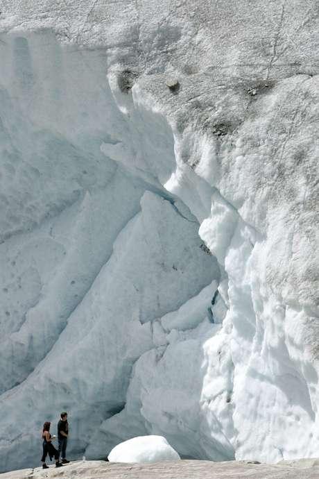 Los hermanos desaparecieron en marzo de 1926 cuando realizaban montañismo. Foto: AP