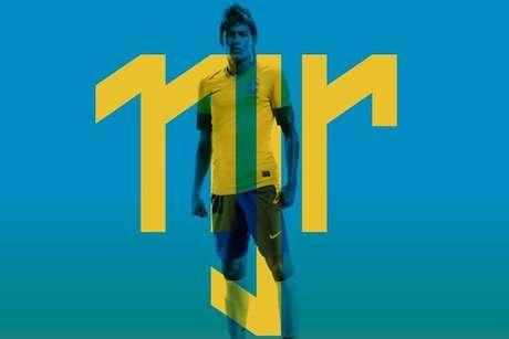 Neymar toma como referencia su tradicional número 11 Foto: Loducca