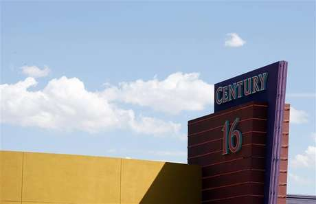 The Century 16 movie theater where 12 were killed and dozens injured on July 20, 2012, is pictured in Aurora July 26, 2012. Foto: Rick Wilking / Reuters