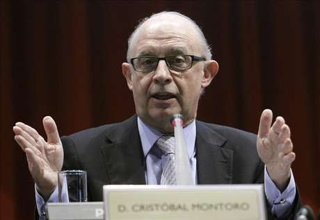 El ministro de Hacienda, Cristóbal Montoro Foto: Agencia EFE / Agencia EFE