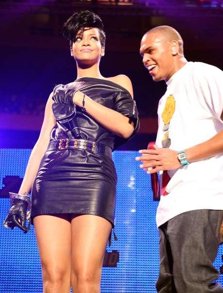 Rihanna pasará fin de año con Chris Brown en Barbados Foto: Getty Images