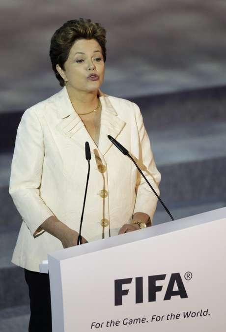 Roussef fue clara en su mensaje durante el sorteo que arrojó los grupos de la Confederaciones. Foto: AP
