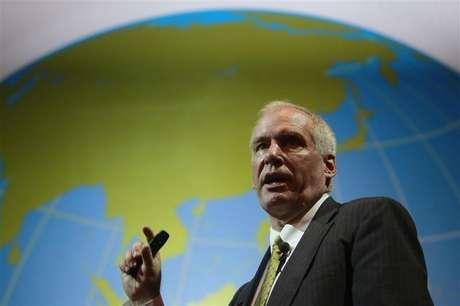 Boston Fed President Eric Rosengren speaks during the Sasin Bangkok Forum July 9, 2012. Foto: Sukree Sukplang / Reuters