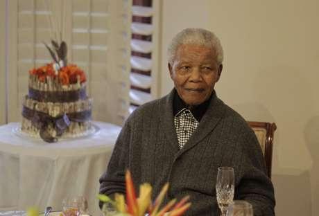 Nelson Mandela tiene 94 años de edad. Foto: AP
