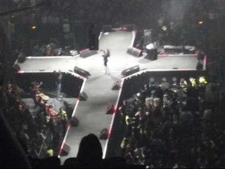 La forma del escenario en el que actuó Jenni Rivera por última vez es una de las coincidencias que más ha impactadoa sus admiradores. Foto: Twitter