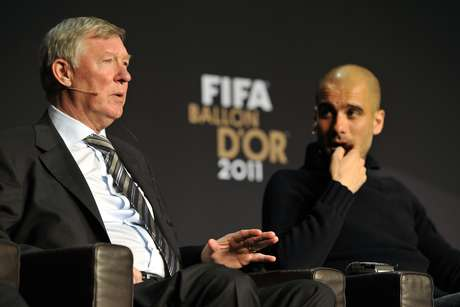 Reports continue that Sir Alex Ferguson favors Pep Guardiola as his possible successor.  Foto: Getty Images