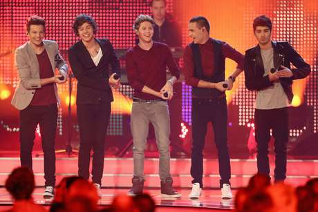One Direction coronado como Artista del Año por MTV. Foto: Getty Images