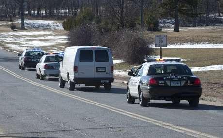 Patrulleros van en marcha al lugar del tiroteo (foto de archivo). Foto: Getty Images