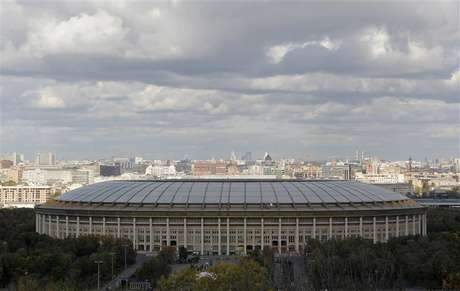 A general view of the Luzhniki Stadium in Moscow September 29, 2012. Foto: Maxim Shemetov / Reuters