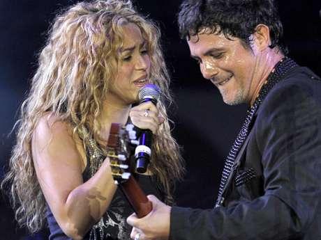 Shakira le desea a Alejandro Sanz lo mejor en su cumpleaños. Foto: Getty Images