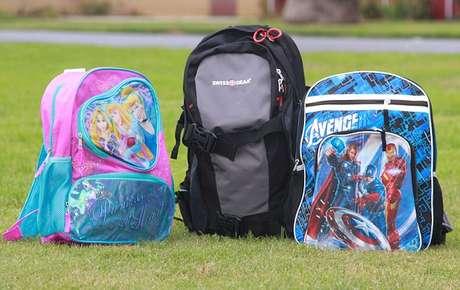 Las mochilas 'antibalas' se venden de 250 a 300 dólares. Foto: Divulgación