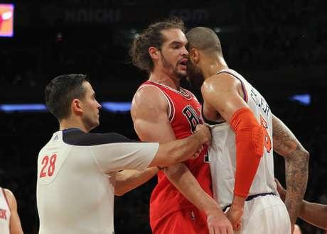 Los Bulls de Chicago derrotaron 110-106 el viernes a los Knicks por segunda ocasión esta temporada. Foto: Getty images