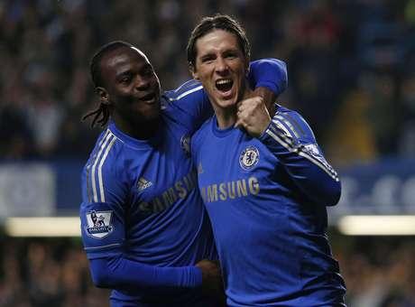 Torres abrió la cuenta a los 3' de iniciado el partido Foto: EDDIE KEOGH / REUTERS