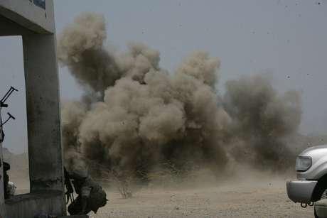 Los funcionarios dijeron que el avión no tripulado impactó un vehículo en un pueblo ubicado en la sureña provincia de al-Bayda. Foto: Getty Images