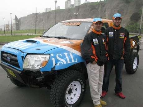 Diego Weber y Alonso Carrillo participarán en su segundo Rally Dakar Foto: Andina