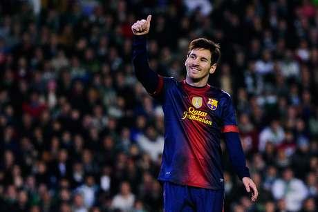 Messi tuvo un impresionante 2012. Foto: Getty Images