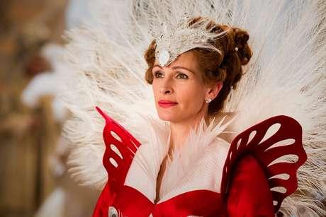 """Julia Roberts no consiguió levantar la cinta """"Mirror Mirror"""", inspirada en la historia de Blancanieves Foto: Reproducción"""