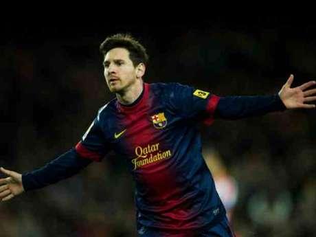 El delantero del Barcelona, Leo Messi Foto: GETTY IMAGES