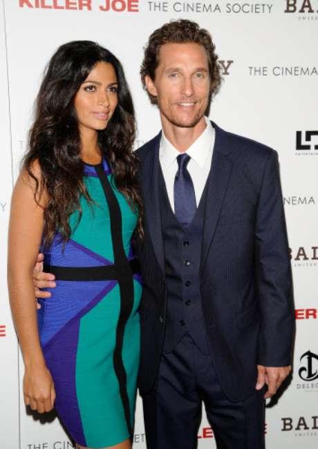 Matthew McConaughey y Camila Alves.  Foto: Gtres
