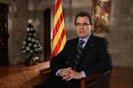 """Mas aboga por que Cataluña pueda decidir en libertad """"su futuro como nación"""" Foto: Agencia EFE / © EFE 2012. Está expresamente prohibida la redistribución y la redifusión de todo o parte de los contenidos de los servicios de Efe, sin previo y expreso consentimiento de la Agencia EFE S.A."""
