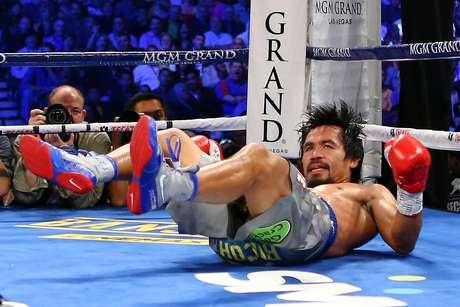 Pacman perdió de forma estrepitosa ante el mexicano Juan Manuel Márquez el pasado 8 de diciembre. Foto: Getty Images