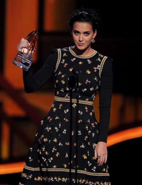 Katy Perry se llevó cuatro estratuillas en los People's Choice Awards. Foto: Getty Images