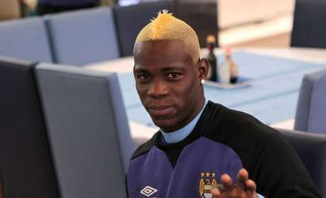 Balotelli went blonde. Is it possible that he can have even more fun? Foto: Tomada de Internet