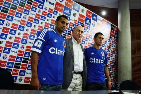 Díaz y Cortés serán dos de los refuerzos presentados. Foto: Agencia Uno