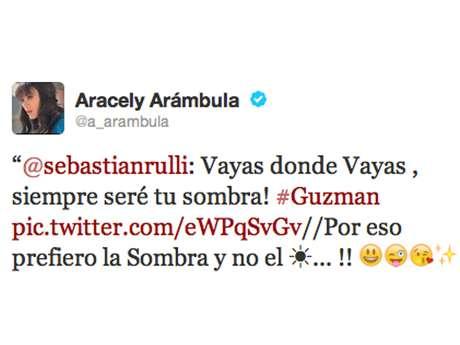 Aracely Arámbula envía indirecta a Luis Miguel en Twitter Foto: Twitter Aracely Arámbula